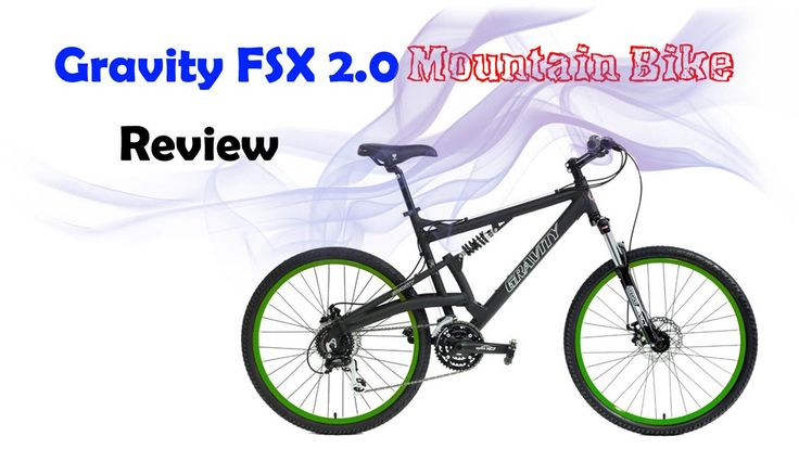 2016 Gravity FSX 2.0 Dual Full Suspension Mountain Bike Review