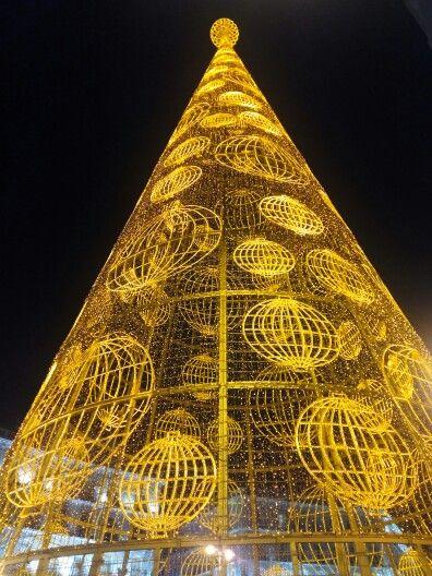 Árbol Navidad Loterías. Puerta del Sol. Madrid. Diciembre 2014