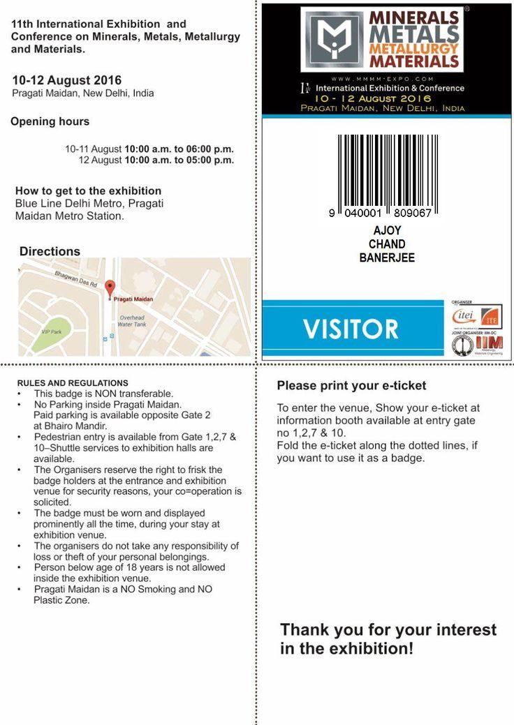 MMMM 2016 | - Visitor registration