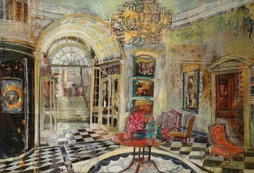 William Savage    Savoy Hotel: Upper Thames Foyer    2011