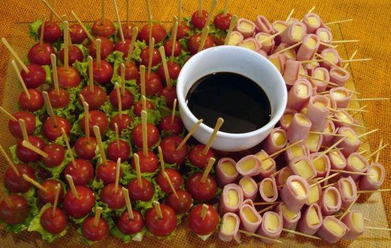 decoração de mesa natalina com frutas - Pesquisa Google