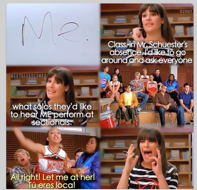 "I love Rachel Berry (""The Substitute"")"