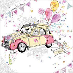 WS409 Just Married! www.gailscards.com.au