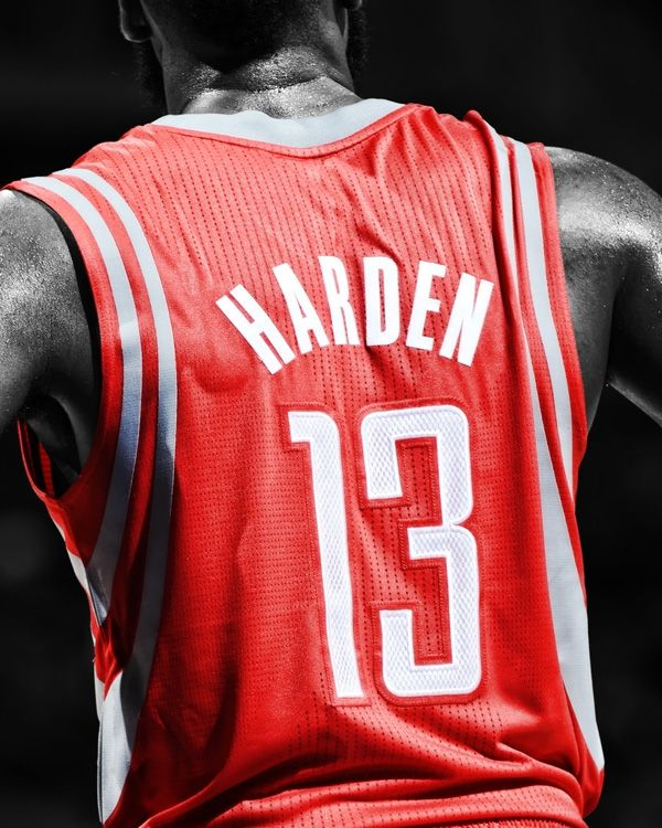 James Harden-Houston Rockets #13