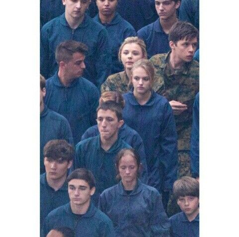 The 5th Wave already gone to filming! Chloe Moretz as Cassie and Nick Robinson as Zombie