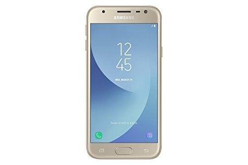 """#Smartphone #Samsung #J3 2017 5"""" HD LCD Quad Core 16 GB 2 GB RAM #4G Gold #Kamera #Telefon #Handy"""