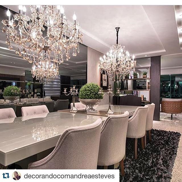 #Repost @decorandocomandreaesteves with @repostapp. ・・・ @arquitetoathos prá começar o domingo, escolhi esta lindíssima sala de jantar. Parabéns! Os projetos são incríveis... #arquitetoathos #decor #decorando #arquitetura #archlovers #arquitetando #dinningroom #lighthouse #home #cozy #goodmorning