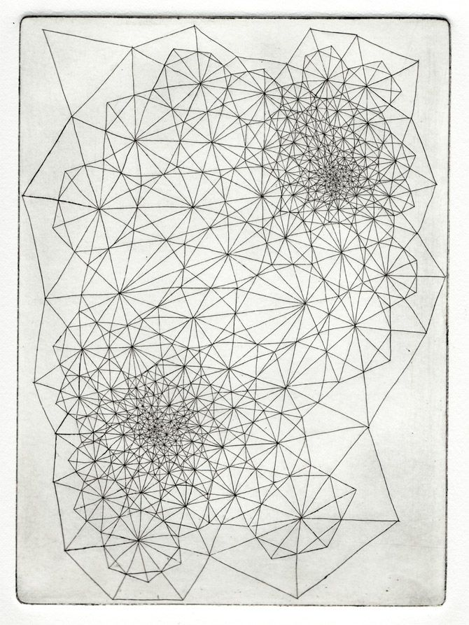 Clint Fulkerson   Hand Drawn Geometric Abstraction inspiration
