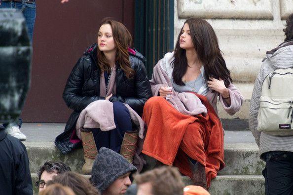 Leighton Meester Photos: Leighton Meester and Selena Gomez Film 'Monte Carlo'