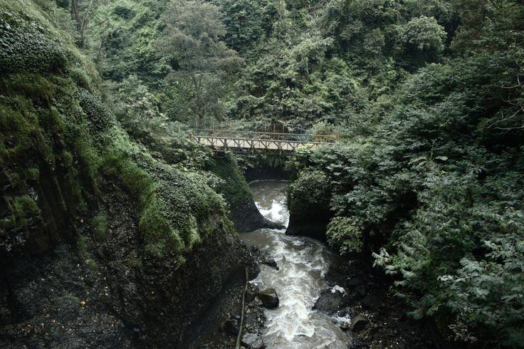 Juanda Forest, Waterfall Curug Bandung