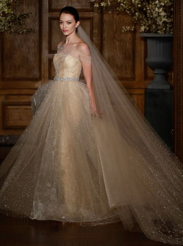 Red Carpet Worthy Romona Keveza Wedding Dresses 2014! To see more: www.modwedding.com