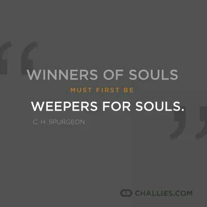 christian quote | C.H. Spurgeon quote  | soul winners