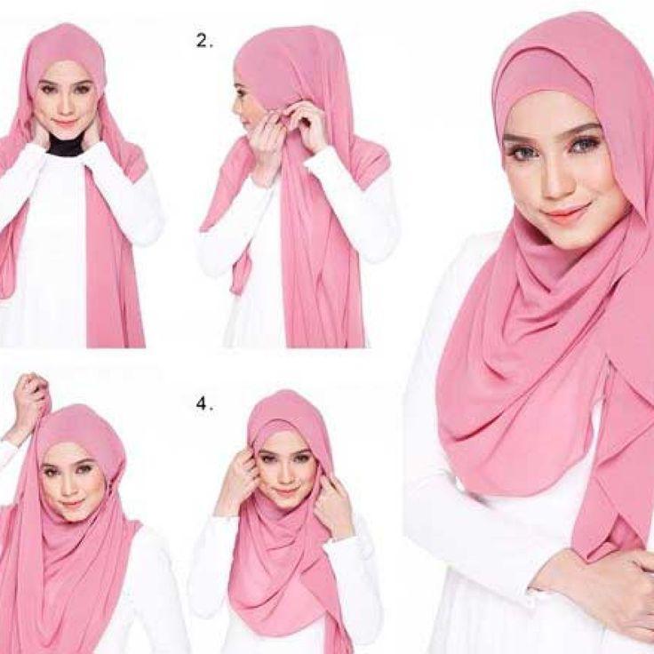 Ladies Mau Tampil Imut? Yuk Lihat Cara Memakai Hijab Pasmina Ini yah
