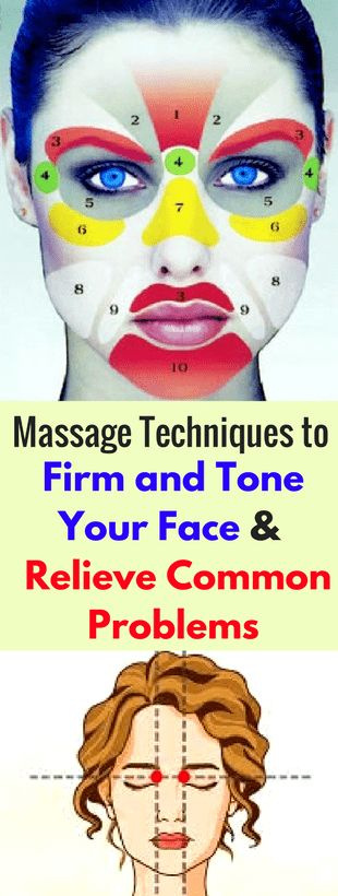 Here's a collection of free face exercises and massage techniques to firm and tone your face and neck, enhance local blood flow, relax you, and relieve common problems like a headache, insomnia, nervous tension, sore eyes, sinus problems and nasal congest