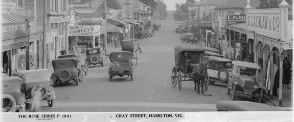 Gray St Hamilton 1941. Victoria Australia.