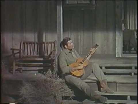 "Clint Walker Sings ""Angela"" from The Night of the Grizzly"