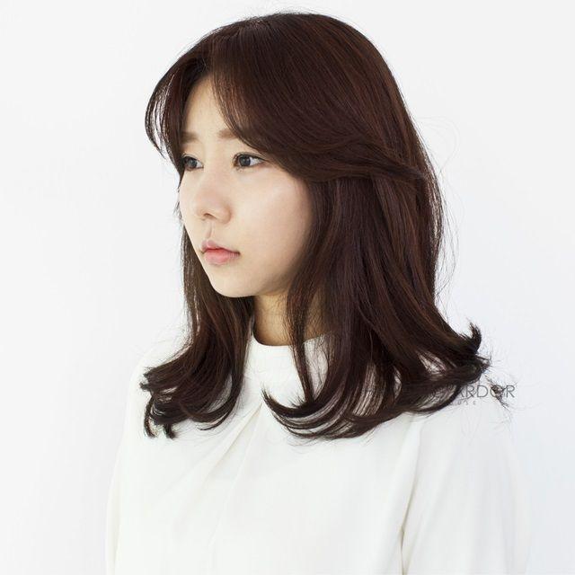 #medium #hair #hairstyle #beauty #cut #bold #perm