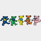 You just have to love those timeless dancing bears.