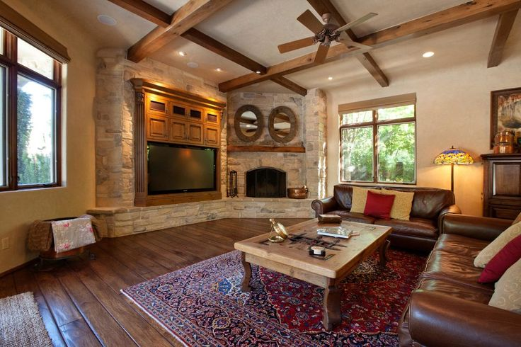 fireplace next to tv family room transitional with no casing contemporary decorative pillows