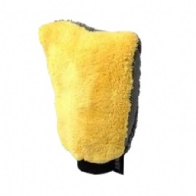Microfiber Washmitt Yellow   Perfectwheels
