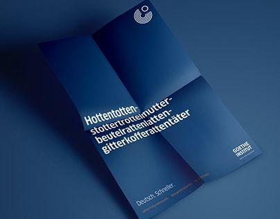 """Check out new work on my @Behance portfolio: """"Deutsch. Schneller."""" http://on.be.net/1hbnTks"""