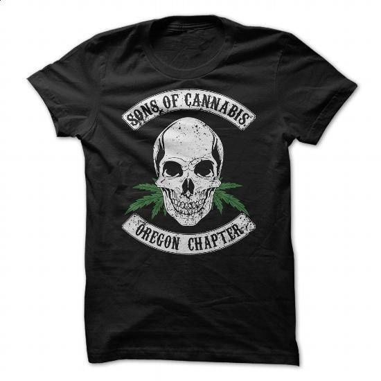 Sons of Cannabis - Oregon Chapter - #navy sweatshirt #design tshirts. MORE INFO => https://www.sunfrog.com/States/Sons-of-Cannabis--Oregon-Chapter.html?60505
