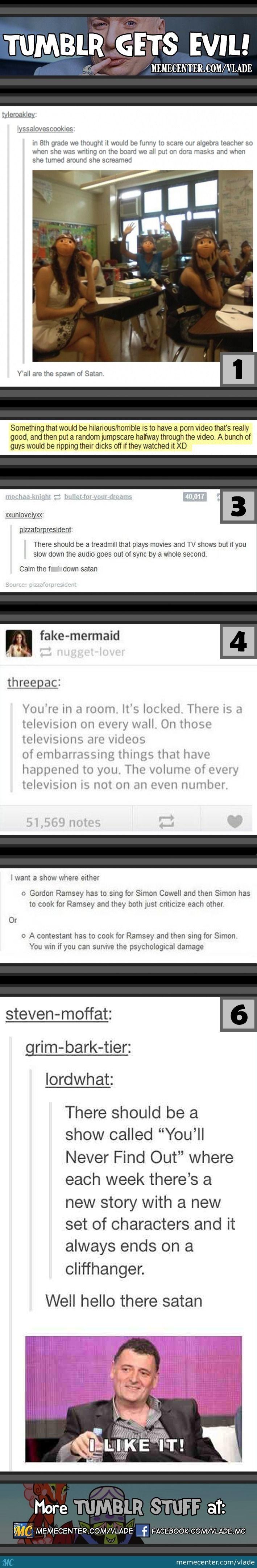 Tumblr Gets Evil!