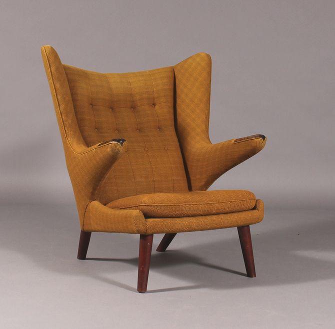 Hans J Wegners Bamsestol Papa Bear Chair For The Home