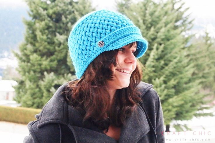 Free Criss Cross Hat Pattern by Craft Chic