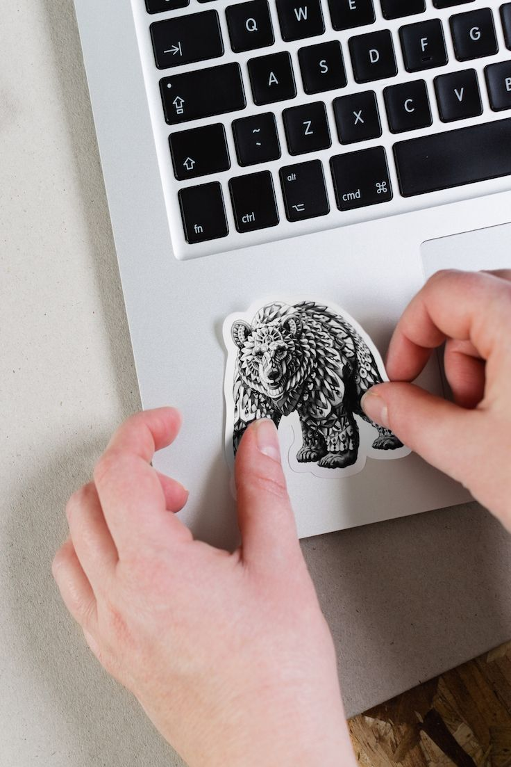 Redbubble stickers come in four sizes, from small to extra large. Deck out  everything