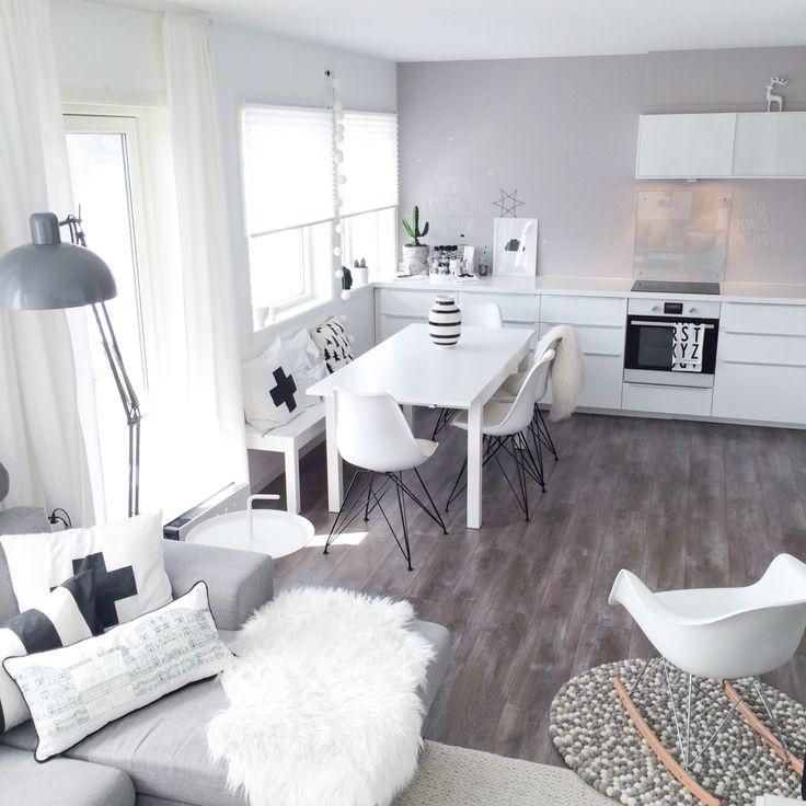 My kitchen and livingroom.