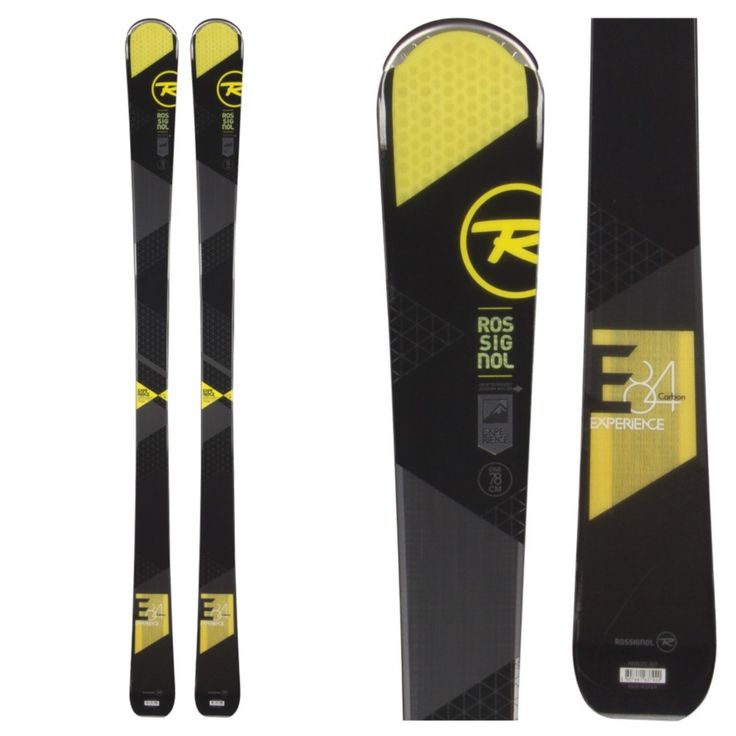 The Rossignol Experience 84 CA is a perfect carving ski for intermediates looking to improve all the way up to the advan..