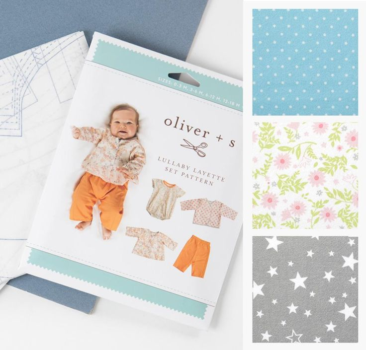Pick Your Project: Oliver + S Lullaby Layette Kit available only at Craftsy!