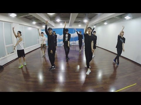 EXO reveal Love Me Right practice video
