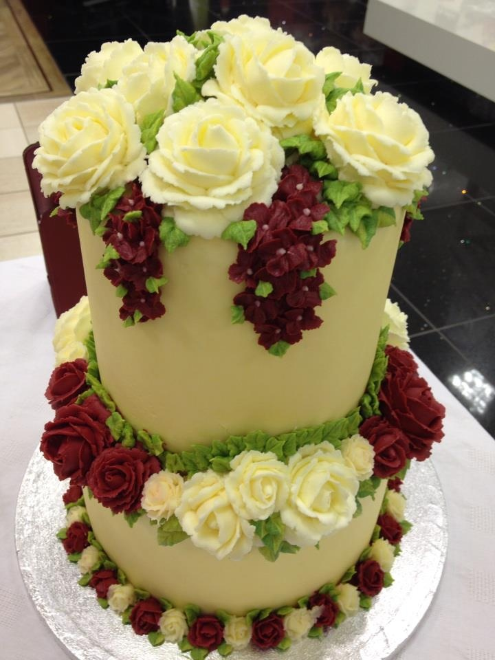 Work of Art--wedding cake by Maha