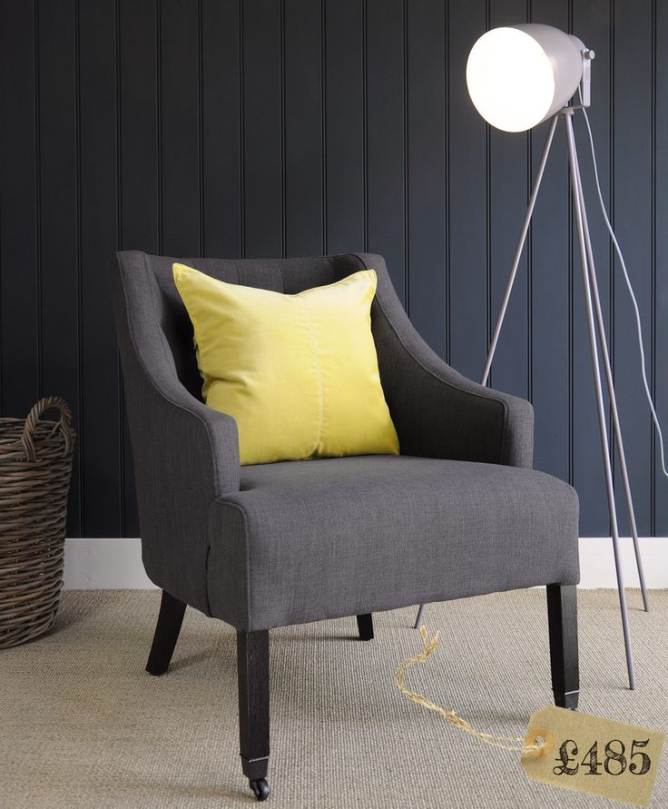Leo - Our modern buttoned back armchair