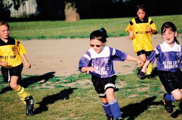 little girls playing soccer   Blind and bullied: She lost her sight and then things got worse