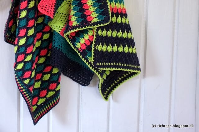 crochet towels with different patterns by #tichtach