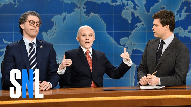 HILARIOUS Weekend Update: Al Franken and Jeff Sessions - SNL - YouTube