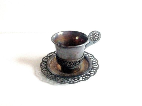 Vintage coffe cup. Cup and Saucer. Espresso cups от SashaStore, $16.90