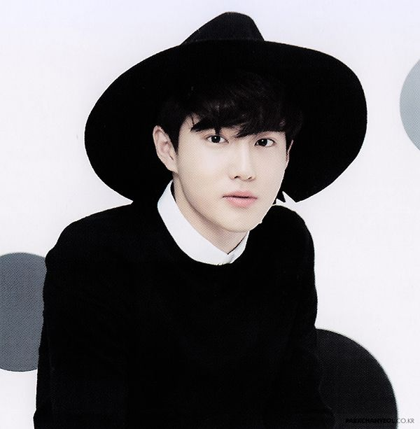 Suho looking good in a that hat