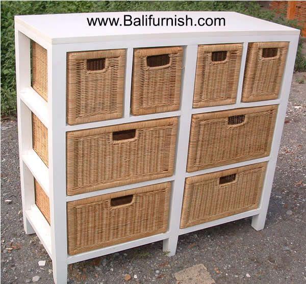 Woven Fibre Furniture Indonesia Furniture Woven Locker Storage