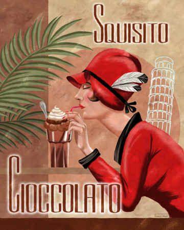 """Italian Chocolate I""  by Thomas Wood"