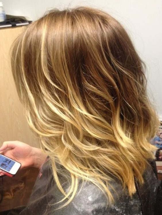Top 13 cute short Ombre hairstyles for straight & wavy hair to look young & polished