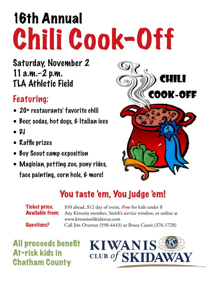 1000 images about kiwanis of skidaway on pinterest for Chili award certificate template