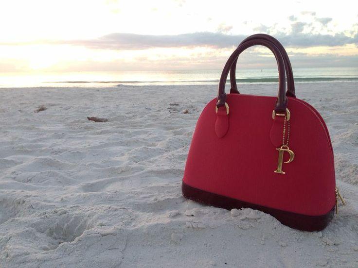 PISIDIA handbag and true Florida scenery. www.pisidiausa.com