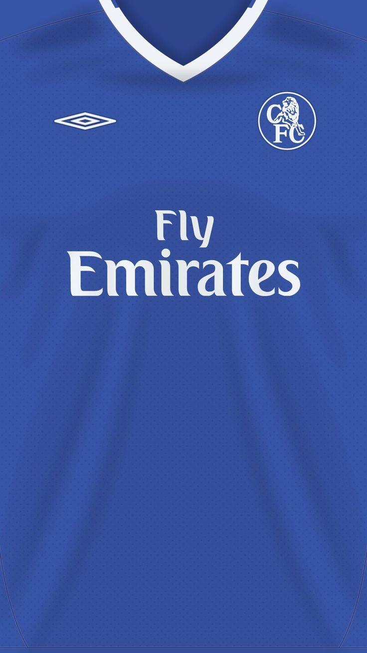 Chelsea FC 03-04 kit home #soccerkits