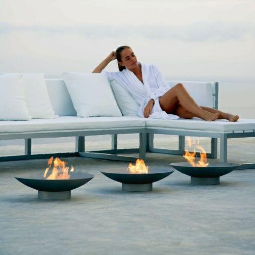brasero et vasques feu pour une ambiance unique bricolage. Black Bedroom Furniture Sets. Home Design Ideas