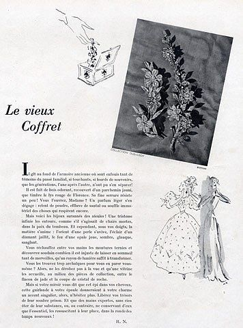 Dusausoy Flower Brooches, 1945.