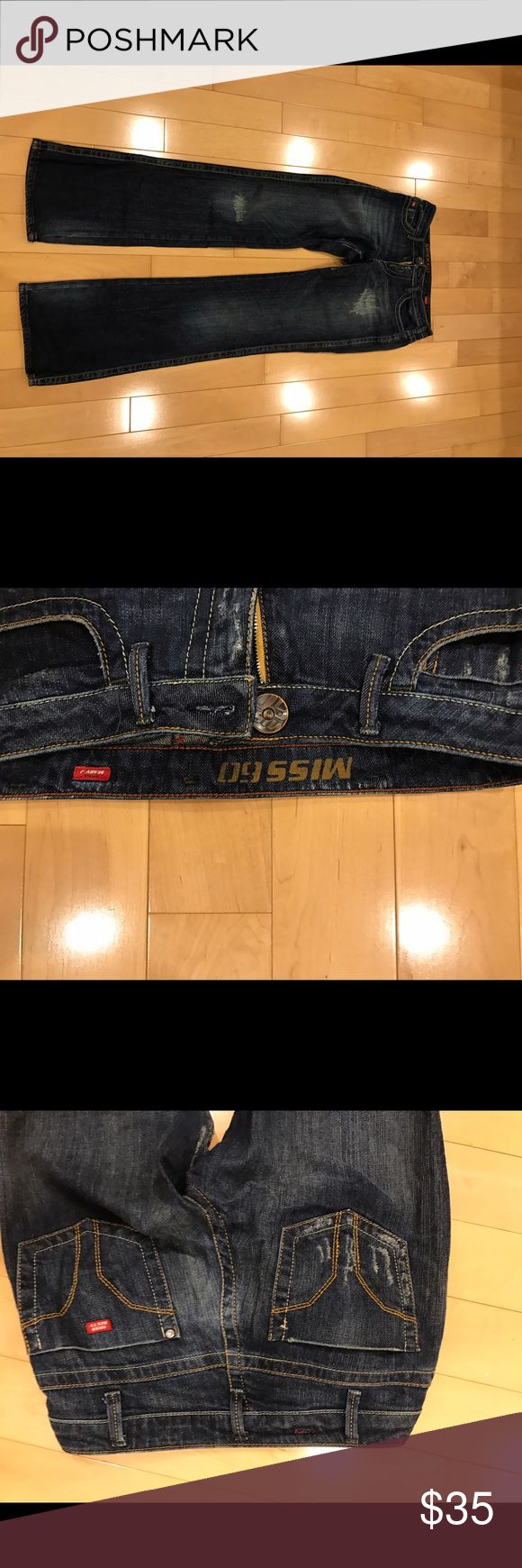 Women's Miss Sixty Jeans These are a gently used pair of women's jeans. They are stainless and in excellent condition. The fabric is very soft and flexible. They are perfect for all occasions. Miss Sixty Jeans Boot Cut